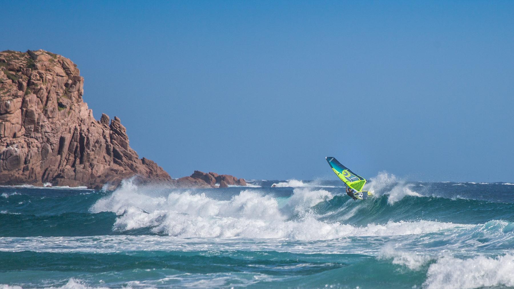 phillip island windsurfing at woolamai
