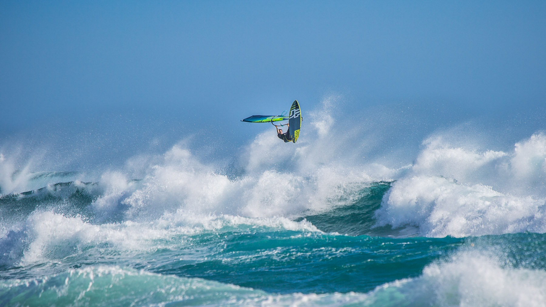 phillip island windsurfing at woolamai