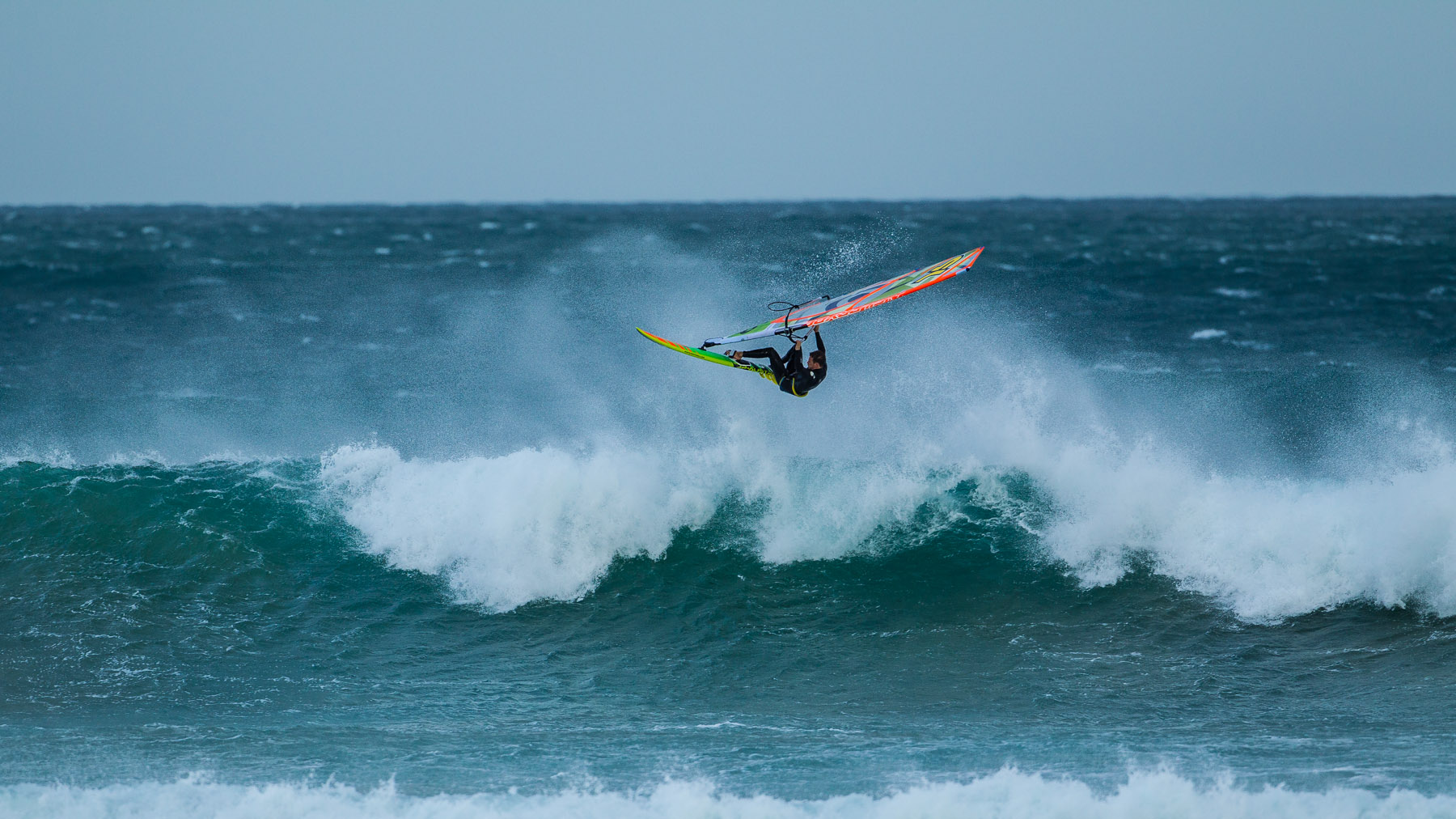 alastair mcleod windsurfing 13th beach poo point