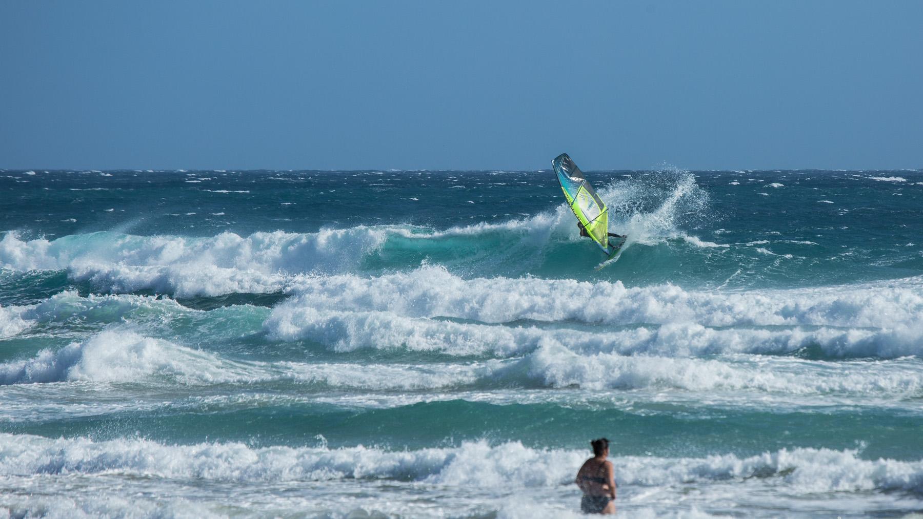 alastair mcleod windsurfing gunnamatta mornington peninsula