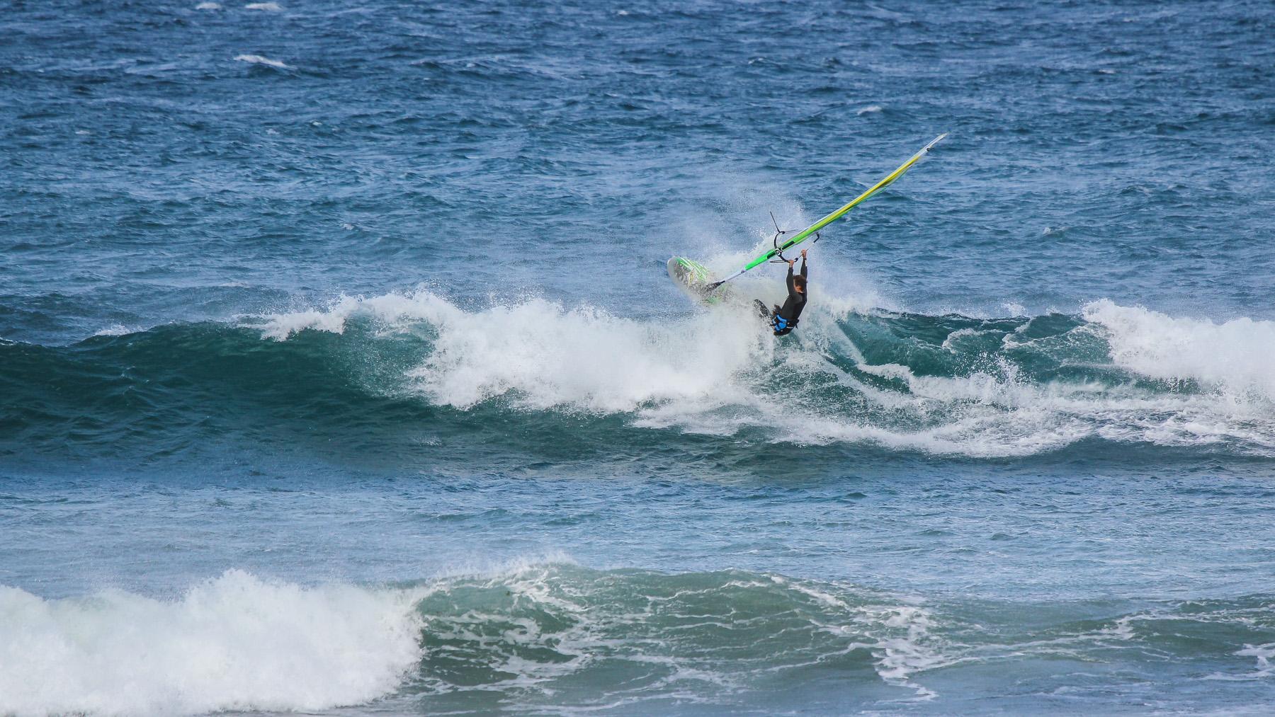 alastair mcleod windsurfing sandy point front beach