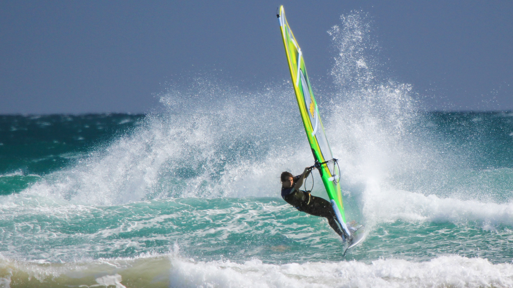 windsurfing long arms at sandy point