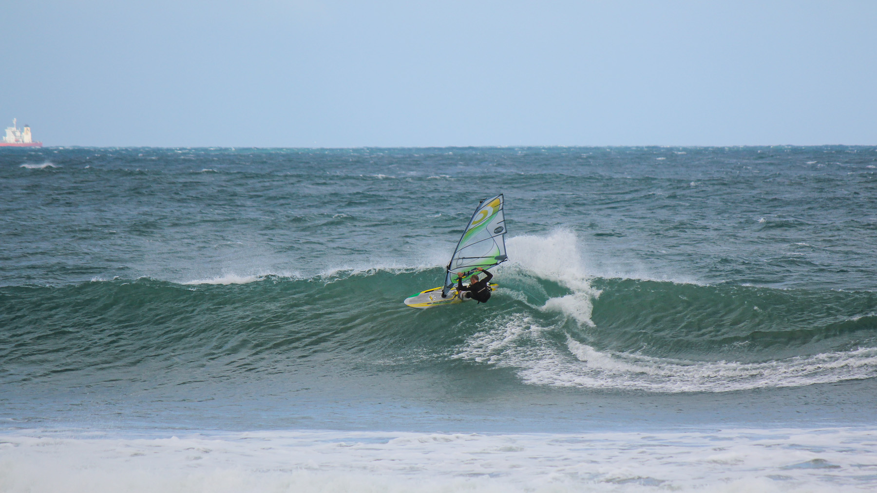 windsurfing at poo point 13th beach victoria