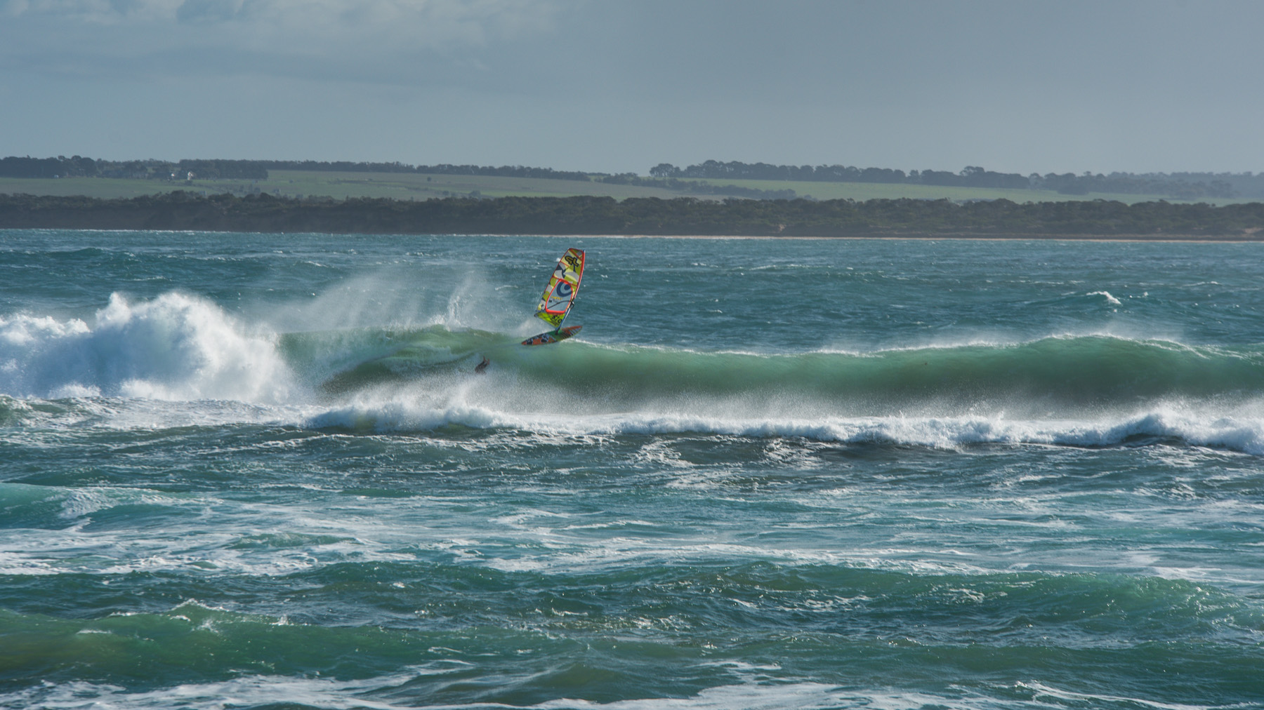 alastair mcleod windsurfing quarantine mornington peninsula victoria
